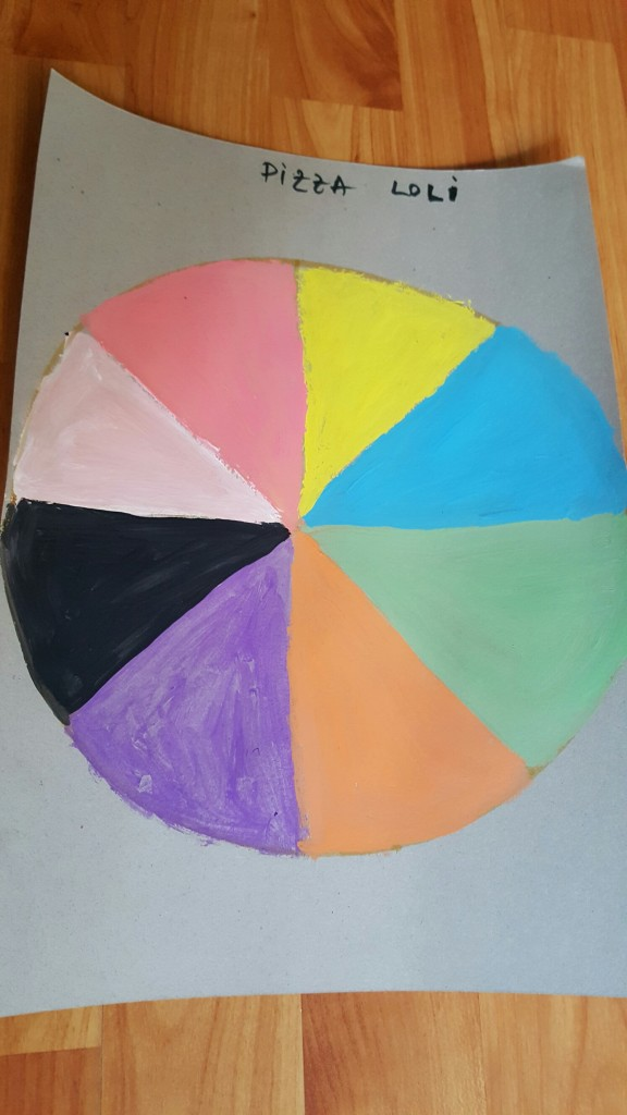 Pizza culorilor