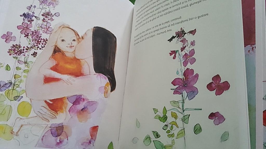 Doar ţiţi rămâne mică - imagini carte