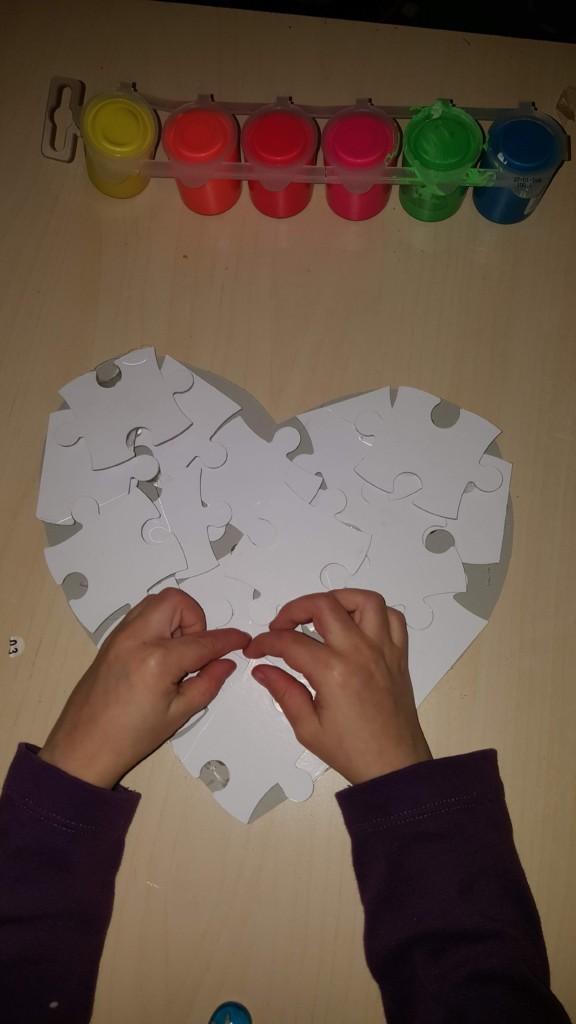 puzzle inimă