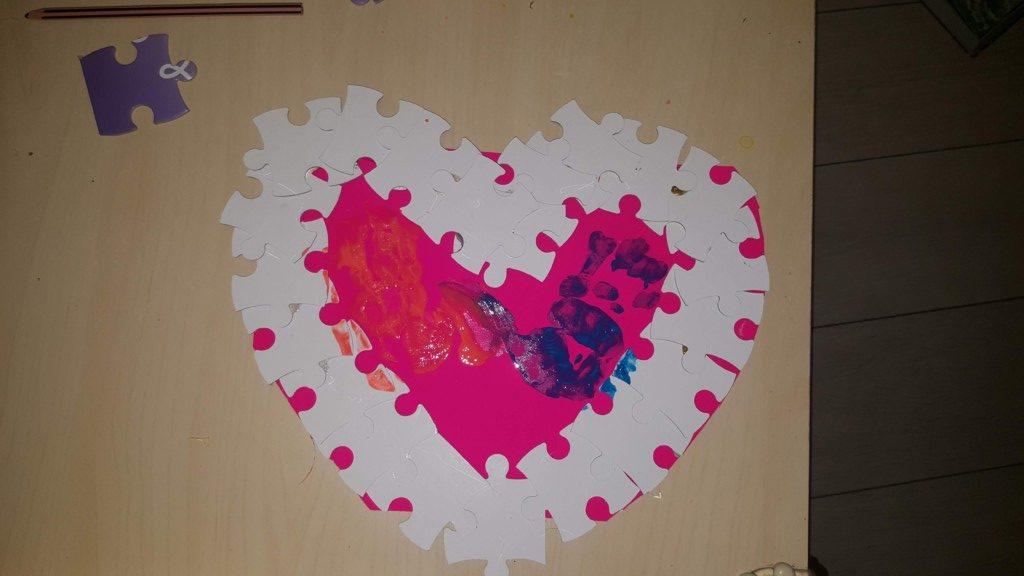 inimă puzzle