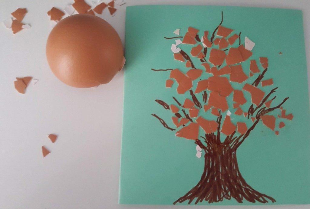 5 felicitări de Pașticu design special din coji de ouă
